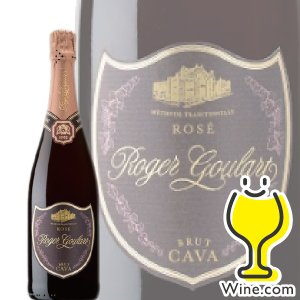 ロジャーグラート roger goulart カヴァ ロゼ ブリュット 750ml 箱なし スパークリングワイン sparkling wine|wine-com