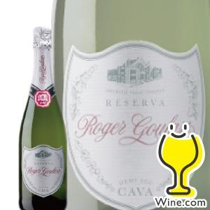 ロジャーグラート カヴァ プラチナ ドゥミ セック 750ml スパークリングワイン|wine-com