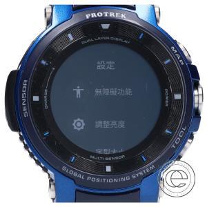 ○CASIO カシオ WSD-F30-BU PRO TREK smart プロトレックスマート GPS アウトドア スマートウォッチ 腕時計 ブルー|wine-king