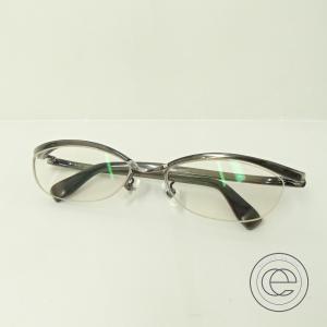 999.9 フォーナインズ M-702 ハーフリム セルフレーム 眼鏡 54□17-130 ブラック|wine-king