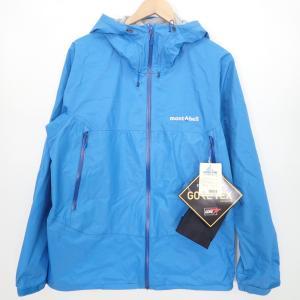 新品   Montbellモンベル 1128618 GORE-TEXゴアテックス Rain Dancer Jacket レインダンサージャケットXL セルリアンブルー メンズ|wine-king|02