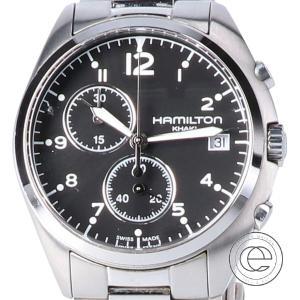 HAMILTON ハミルトン H765120 カーキ パイロット パイオニア クロノグラフ クォーツ腕時計 シルバー メンズ|wine-king