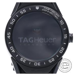 TAG HEUER タグホイヤー SBF8A8013 CONNECTED MODULARコネクテッドモジュラー45 スマートウォッチ/ 腕時計 ブラック|wine-king