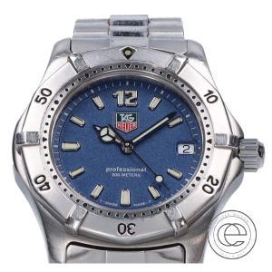 TAG HEUER タグホイヤー 2000シリーズ プロフェッショナル200m デイト WK1213 クォーツ ボーイズ 腕時計 シルバー メンズ|wine-king