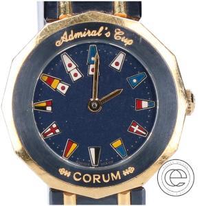 CORUM コルム ADMIRAL アドミラルズカップ クオーツ腕時計 ガンブルー レディース|wine-king