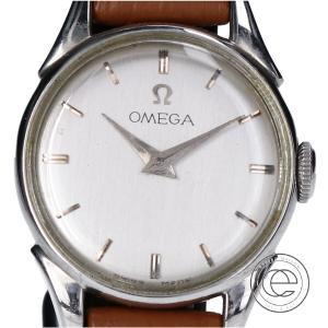 OMEGA オメガ 2418.16 Cal.244 手巻き ヴィンテージ レザーベルト ラウンドウォッチ 腕時計 レディース|wine-king
