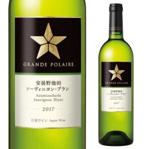 白ワイン 安曇野池田 ソーヴィニヨンブラン 2017 グランポレール サッポロビール 750ml 日...