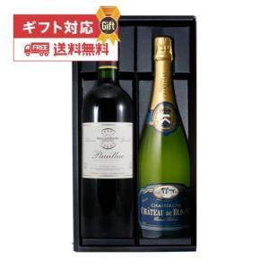 (ワインギフト 2本)シャンパン&ボルドー ルージュ スペシャル ワインセット|wine-naotaka