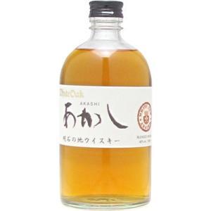 江井ヶ島酒造 ホワイトオーク 地ウイスキーあかし  500ml (ウイスキー)|wine-sakesen