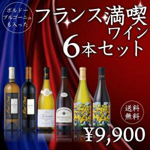 シャトーモン・ペラも入った!フランスまるごと満喫ワイン6本セット 750ml×6本