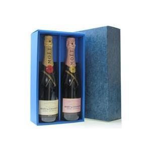 スパークリングワイン2本箱(通常スパークリングボトル)包装・包装紙付|wine-sakesen