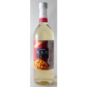 チョーヤ 梅ワインヌーボー 紅氷熟 2016 720ml (甘味果実酒)