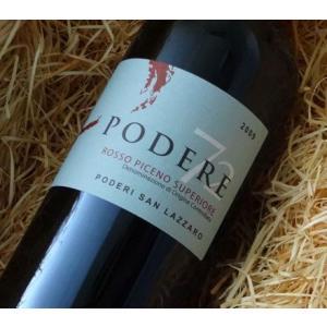 サンラッザロ ロッソ・ピチェーノ・スーペリオーレ ポデーレ 72 2009 750ml(赤ワイン)|wine-tikyuya