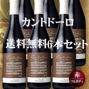 送料無料 フルボディ赤ワイン カントドーロ  6本セット...