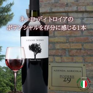 フルボディ 赤ワイン ジェルソ ネーロ イタリア プーリア...