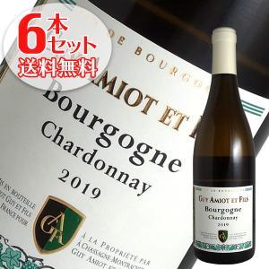 (送料無料)6本セット ブルゴーニュ シャルドネ キュヴェ フラヴィ 2017年 アミオ ギイ エ フィス(白ワイン)|winecellarescargot