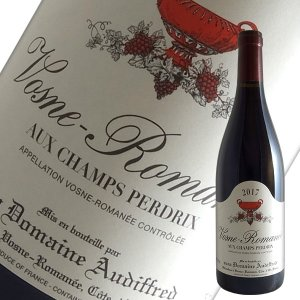 ヴォーヌ ロマネ シャン ペルドリ 2017年 オーディフレッド(赤ワイン ブルゴーニュ)|winecellarescargot