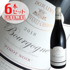 (送料無料)6本セット ブルゴーニュ ルージュ 2018年 ショーヴネ ショパン(赤ワイン ブルゴーニュ)|winecellarescargot