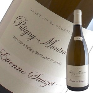 ピュリニー モンラッシェ[2016]エティエンヌ ソゼ(白ワイン ブルゴーニュ)|winecellarescargot