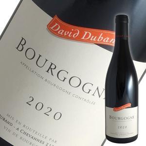ブルゴーニュ ルージュ[2017]ダヴィド デュバン(赤ワイン ブルゴーニュ)|winecellarescargot
