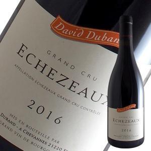 エシェゾー特級 2016年 ダヴィド デュバン(赤ワイン ブルゴーニュ)|winecellarescargot