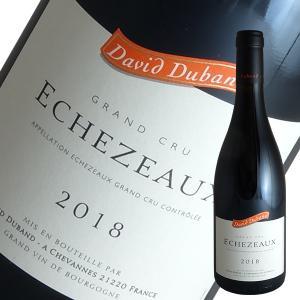 エシェゾー特級[2018]ダヴィド デュバン(赤ワイン ブルゴーニュ)|winecellarescargot