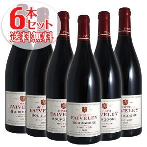 (送料無料)6本セット ブルゴーニュ ピノ ノワール 2018年 フェヴレ(赤ワイン ブルゴーニュ)|winecellarescargot