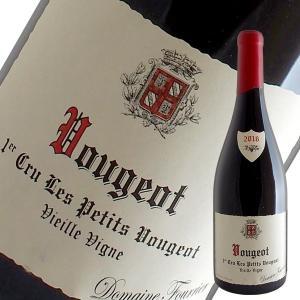 ヴージョ1級レ プティ ヴージョ ヴィエーユ ヴィーニュ 2016年 フーリエ(赤ワイン ブルゴーニュ)|winecellarescargot