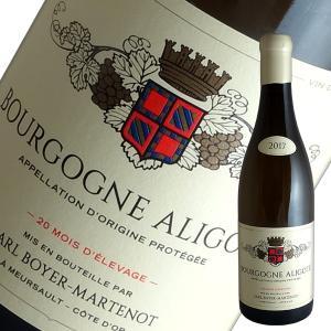 ブルゴーニュ アリゴテ 2017年 イヴ ボワイエ マルトノ(白ワイン ブルゴーニュ)|winecellarescargot