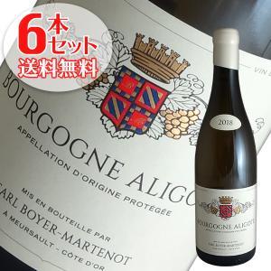 (送料無料)6本セット ブルゴーニュ アリゴテ 2018年 イヴ ボワイエ マルトノ(白ワイン ブルゴーニュ)|winecellarescargot