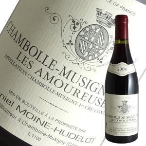 シャンボール ミュジニー1級レ ザムルーズ[2004]ダニエル モワンヌ ユドロ(赤ワイン ブルゴーニュ)|winecellarescargot
