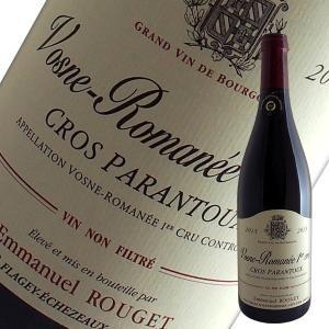 ヴォーヌ ロマネ1級クロ パラントゥ 2015年 エマニュエル ルジェ(赤ワイン ブルゴーニュ)...