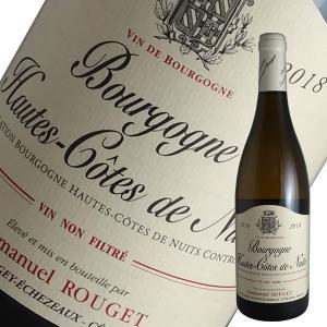 オート コート ド ニュイ ブラン 2018年 エマニュエル ルジェ(白ワイン ブルゴーニュ)|winecellarescargot