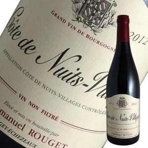 コート ド ニュイ ヴィラージュ 2012年 エマニュエル ルジェ(赤ワイン ブルゴーニュ)|winecellarescargot
