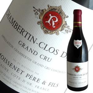シャンベルタン クロ ド ベーズ特級 1979年 ルモワスネ(赤ワイン ブルゴーニュ)|winecellarescargot