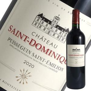 シャトー サン ドミニク[2014]ピュイスガン サン テミリオン(赤ワイン ボルドー)|winecellarescargot