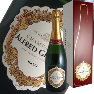 ブリュット[N.V]アルフレッド グラシアン(シャンパン)【ギフトボックス】|winecellarescargot