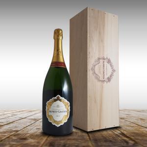 ブリュット マグナム N.V年 アルフレッド グラシアン1500ml(シャンパン)(ギフトボックス)|winecellarescargot
