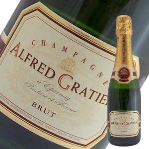 ブリュット ハーフ N.V年 アルフレッド グラシアン375ml(シャンパン)(箱なし)|winecellarescargot