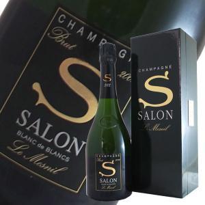 サロン ブラン ド ブラン 2002年 サロン(シャンパン)(ギフトボックス)(正規品)|winecellarescargot