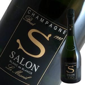 サロン ブラン ド ブラン 1997年 サロン(2018年デゴルジュマン)(シャンパン)(木箱)(並行品)(定温コンテナ輸入)|winecellarescargot
