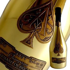 アルマン ド ブリニャック ブリュット(ゴールド) N.V年 アルマン ド ブリニャック(シャンパン)(箱無し)(定温コンテナ輸入)|winecellarescargot