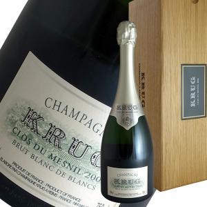 クリュッグ クロ デ メニル ブラン ド ブラン 2004年 クリュッグ(シャンパン)(並行品)(定温コンテナ輸入)(ギフトボックス)|winecellarescargot