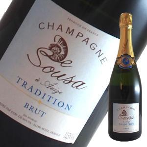 ブリュット トラディション N.V ド スーザ 750ml(シャンパン)|winecellarescargot