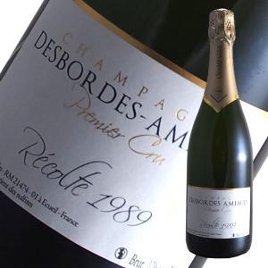 ブリュット レコルト1989プルミエクリュ[N.V]デボルド アミオー(スパークリングワイン シャンパン)|winecellarescargot