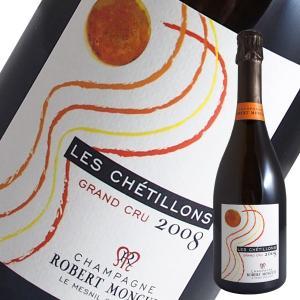 ブラン ド ブラン レ シェティヨン グランクリュ エキストラブリュット 2008年 ロベール モンキュイ(シャンパン)|winecellarescargot|02