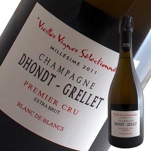 【決算特別セール_8月31日迄】ヴィエーユ ヴィーニュ セレクショネ ブラン ド ブラン EXブリュット[2011]ドント グルレ(シャンパン)|winecellarescargot