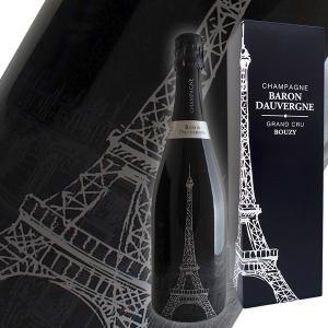 トゥール エッフェル グラン クリュ N.V年 バロン ドーヴェルニュ(シャンパン)(ギフトボックス)|winecellarescargot