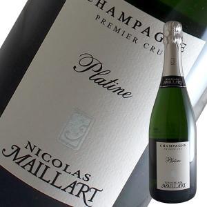 ブリュット プラティーヌ プルミエ クリュ N.V年 ニコラ マイヤール(シャンパン)|winecellarescargot
