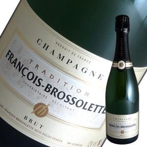 トラディション ブリュット[N.V]フランソワ ブロソレット(シャンパン)|winecellarescargot